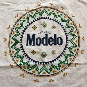Fruit of the Loom Shirts - Modelo Cerveza Beer Tee Shirt Festival Logo XL